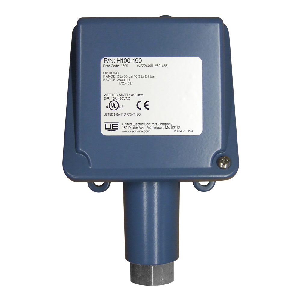United Electric H100-190 Pressure Switch | 247able