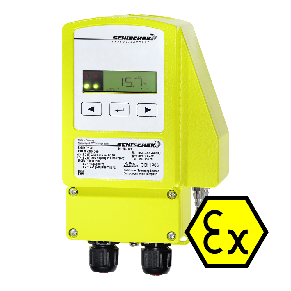 Portable Gas Detection >> Schischek ExBin-P Explosion Proof Differential Pressure Switch | 247able